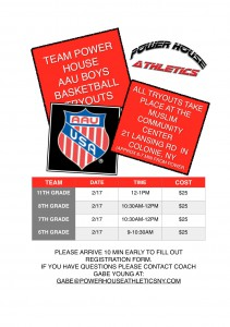 AAU 2018 TRYOUTS